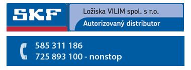 SKF ložiska Vilím autorizovaný distributor